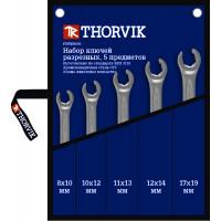 Набор ключей разрезных в сумке 8-19 мм 5 предметов