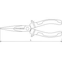 Длинногубцы 180 мм