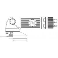 AAG0410 Углошлифовальная машина пневматическая 10000 об/мин 100 мм