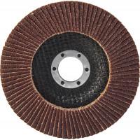 AFD115P100 Диск шлифовальный лепестковый торцевой 115х22.2 мм Р100